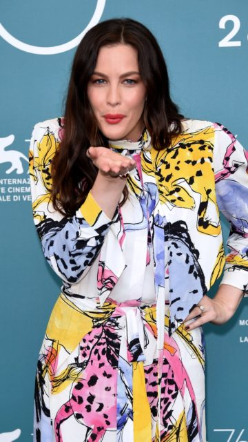 """Liv Tyler – """"Ad Astra"""" Photocall at the 76th Venice Internatinal Film Festival"""