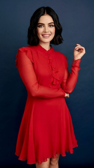 Lucy Hale – TCA Summer Press Tour Portraits August 2019