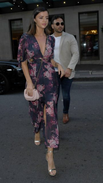 Lucy Mecklenburgh – Leaving Her Hotel in London