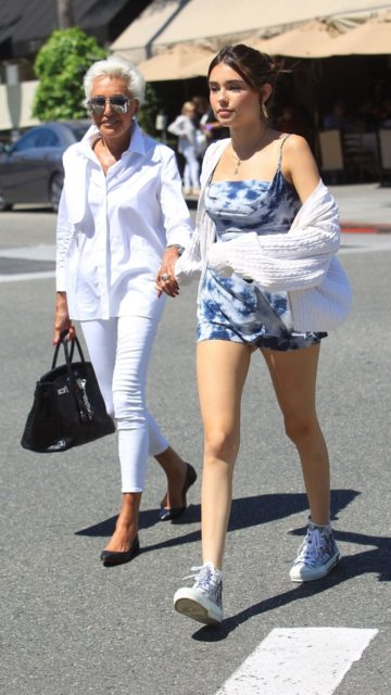 Madison Beer – Il Pastaio in West Hollywood