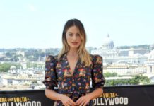 """Margot Robbie – """"Once Upon a Time in Hollywood"""" Photocall in Rome"""