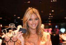 Martha Hunt – Victoria's Secret New Fall Collection Debut in Las Vegas