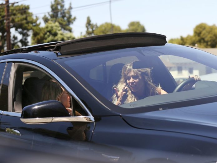 Miley Cyrus and Kaitlynn Carter – Out in LA