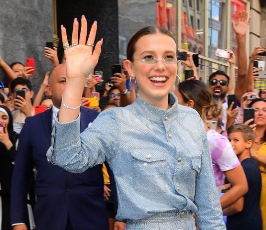 "Millie Bobby Brown – Leaves Her Pop up Store ""Florence by Mills"" in New York"