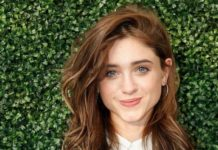 Natalia Dyer – USTA 19th Annual Opening Night Gala Blue Carpet in New York