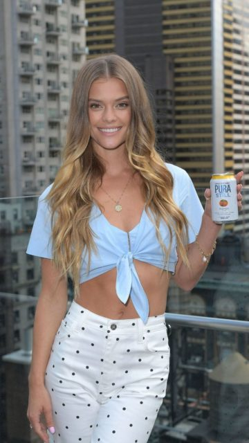 Nina Agdal – Sip on Summer With Pura Still in NYC
