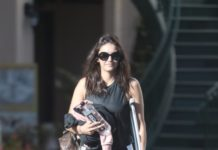 Nina Dobrev – Leaving Pilates Class in West Hollywood