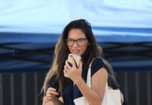 "Olivia Munn – ""'Violet"" Movie Filming Set in Los Angeles"