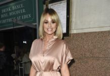 Rhian Sugden – Arriving at The Eden Launch in Manchester