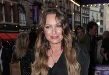 Rita Simons – Girl on the Train Press Night in London