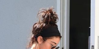 Sarah Hyland – Leaving the Gym in LA