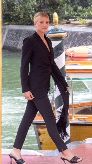 Sofia Richie at Excelsior Hotel in Venice, Italy