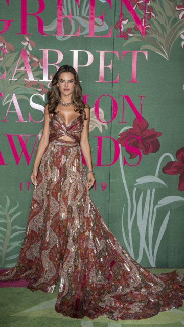 Alessandra Ambrosio – Green Carpet Fashion Awards 2019