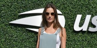 Alessandra Ambrosio – U.S. Open Women's Final