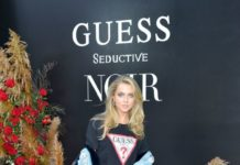 "Anne Winters – GUESS ""Seductive Noir"" Fragrance Launch in LA"