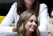 Ashley Benson and Cara Delevingne – U.S. Open Women's Final