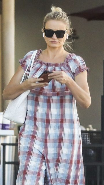Cameron Diaz – Shopping in Beverly Hills