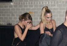 Cara Delevingne and Ashley Benson – Arriving to Rihanna's Fenty Afterparty in NY