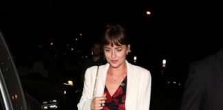 Dakota Johnson – Arrives for Her Sister Stella Banderas's Birthday Dinner in Los Angeles