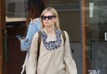 Elisha Cuthbert Casual Style – Shopping in Beverly Hills