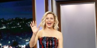 "Elizabeth Banks – Promoting ""Brightburn"" on Jimmy Kimmel Live in LA"