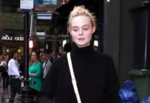 Elle Fanning – Out in London