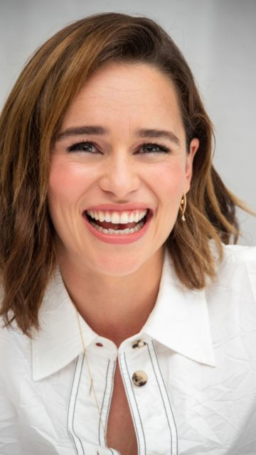 """Emilia Clarke – """"Last Christmas"""" Press Conference in Beverly Hills"""