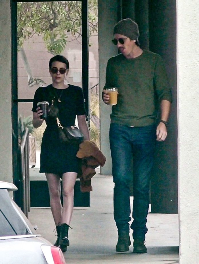 Emma Roberts – Out For Lunch in LA