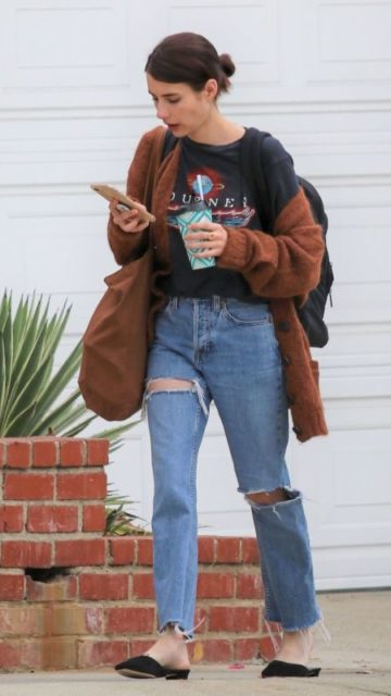 Emma Roberts – Out in LA