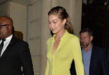 "Gigi Hadid – Heading to the ""Fenty"" After Party in Paris"