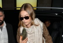 Gigi Hadid Style – Out in London