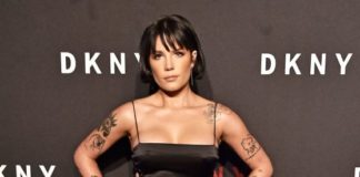 Halsey – DKNY 30th Anniversary Party in NY