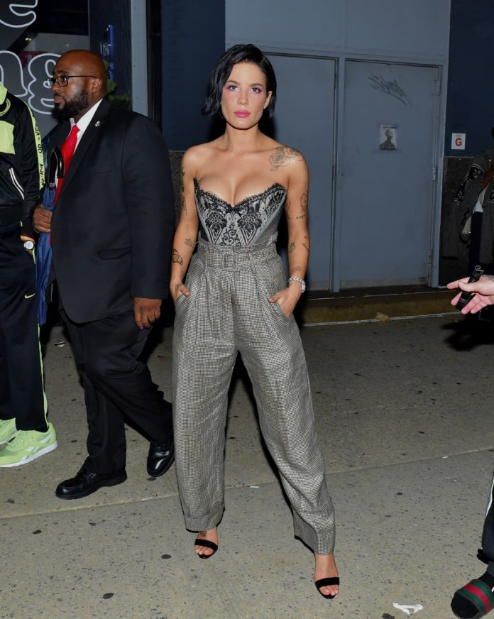 Halsey – Leaves Rihanna's Fenty After Party in NY