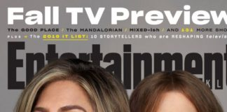 Jennifer Aniston and Reese Witherspoon – Entertainment Weekly Magazine October 2019 Issue