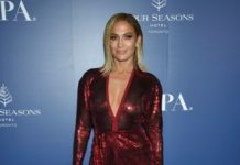 Jennifer Lopez – The HFPA and THR Party in Toronto
