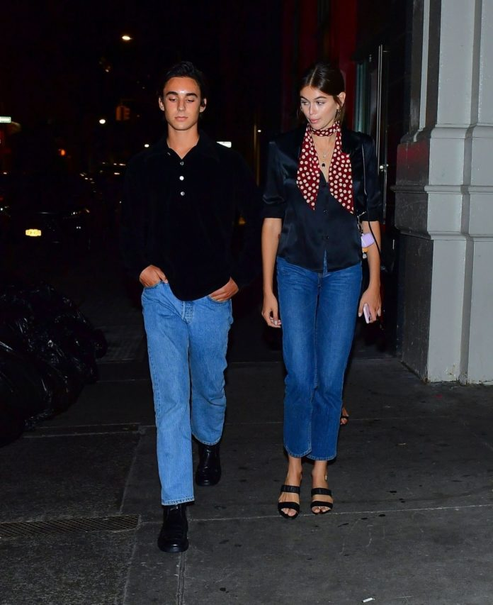 Kaia Gerber – Out For Dinner in NY
