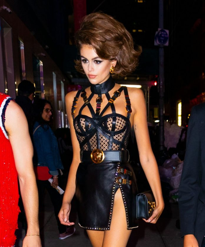 Kaia Gerber – Out in NYC During NYFW
