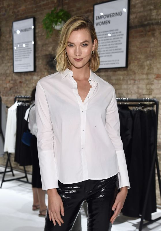 Karlie Kloss – Misha Nonoo Pop-Up Launch Event in New York City