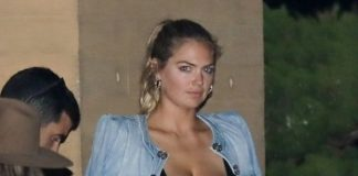 Kate Upton Night Out Style