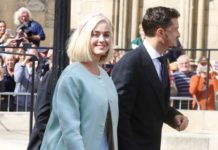 Katy Perry and Orlando Bloom – Wedding of Ellie Goulding and Caspar Jopling in London
