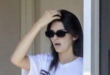 Kendall Jenner – Takes Her Ferrari in For a Service in Beverly Hills