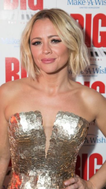 """Kimberley Walsh – """"Big The Musical"""" Party Gala Night in London"""
