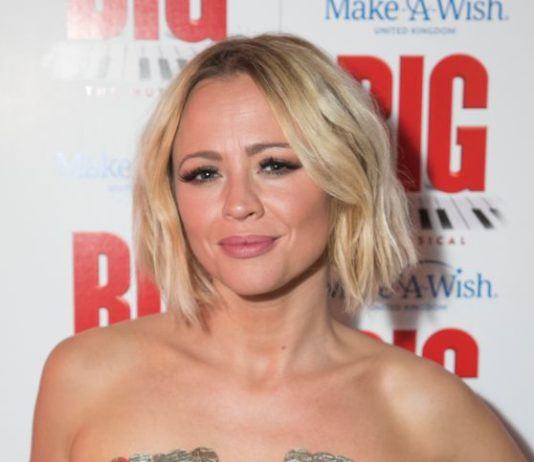 "Kimberley Walsh – ""Big The Musical"" Party Gala Night in London"