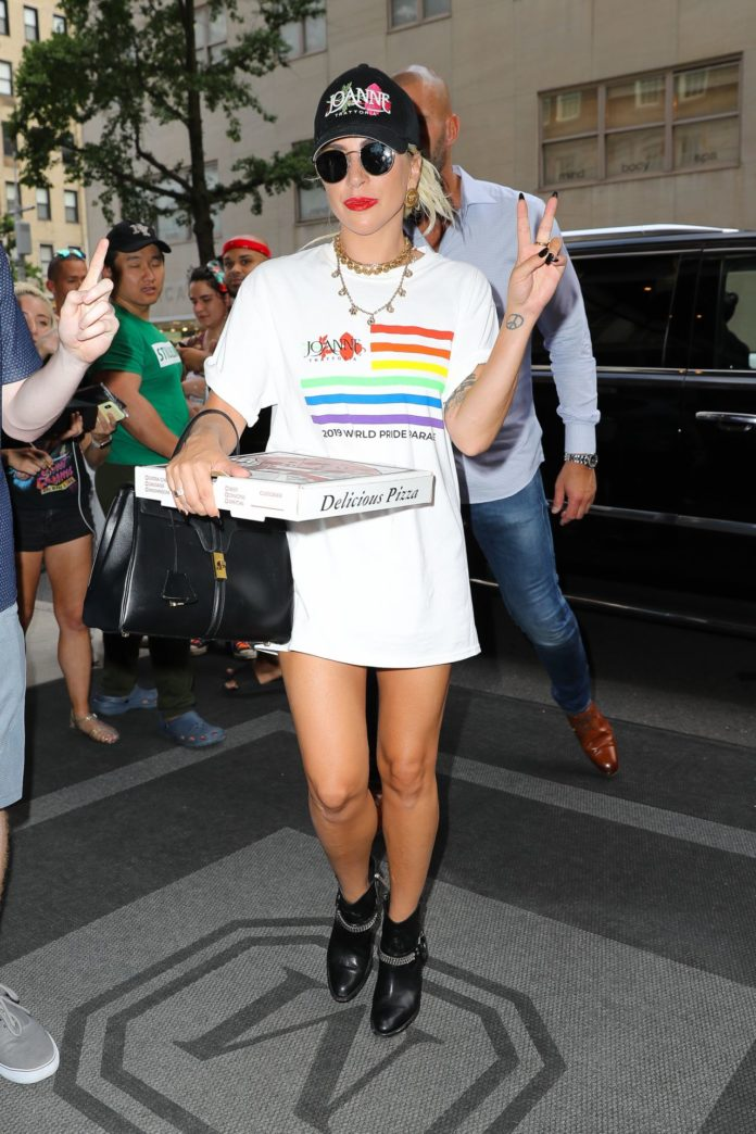 Lady Gaga – Arrives at The Mark Hotel in NYC