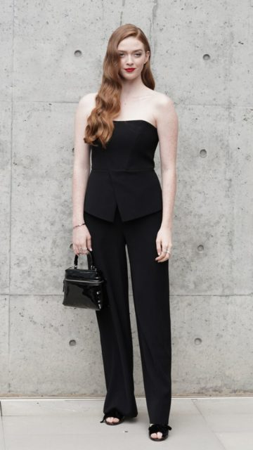 Larsen Thompson – Emporio Armani Fashion Show in Milan