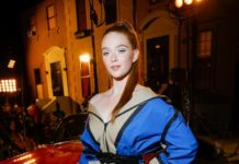 Larsen Thompson – Tommy Hilfiger Fashion Show in NYC