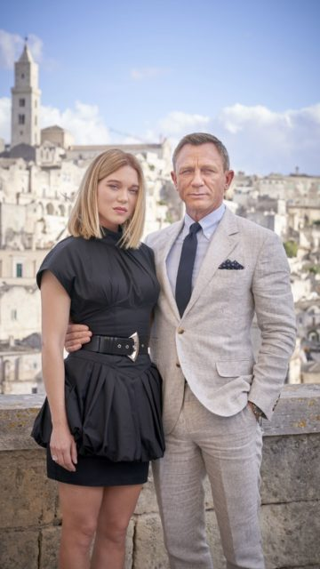 """Lea Seydoux and Daniel Craig – On Location in Italy For """"No Time To Die"""""""