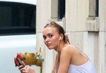 Lily-Rose Depp Street Style – Out in New York City