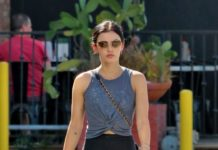 Lucy Hale – Heads to Her Daily Workout Session in Studio City