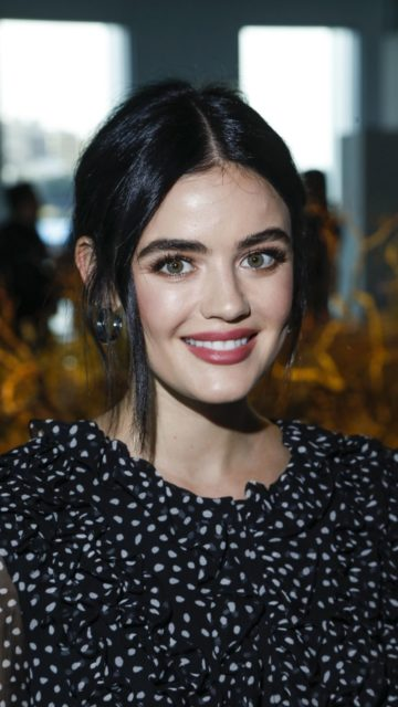 Lucy Hale – Jason Wu Fashion Show at NYFW in NY